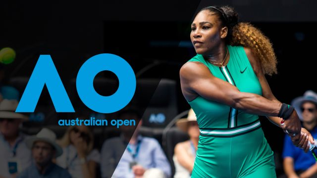 Tue, 1/15 - Australian Open Highlight Show