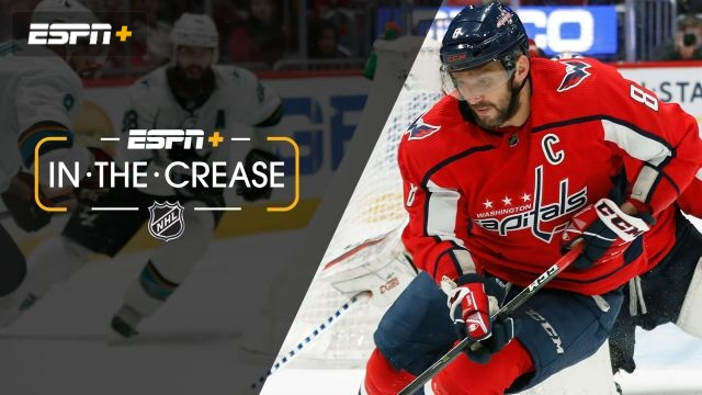 Mon, 1/6 - In the Crease: Capitals look to come back against Sharks