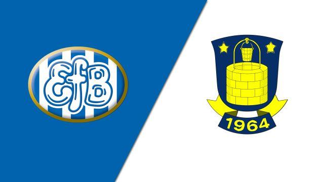 Esbjerg vs. Brondby IF (Danish Superliga)