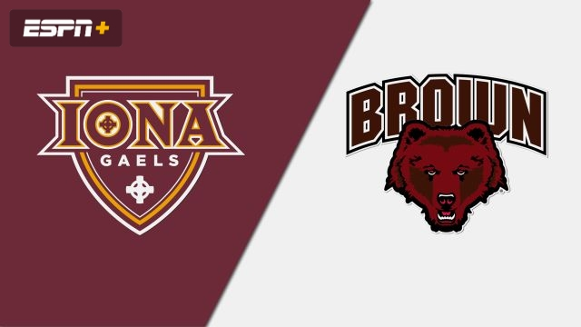 Iona vs. Brown (W Water Polo)