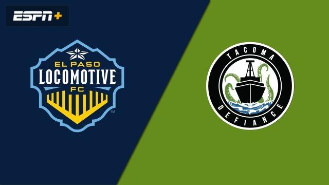El Paso Locomotive FC vs. Tacoma Defiance (USL Championship)