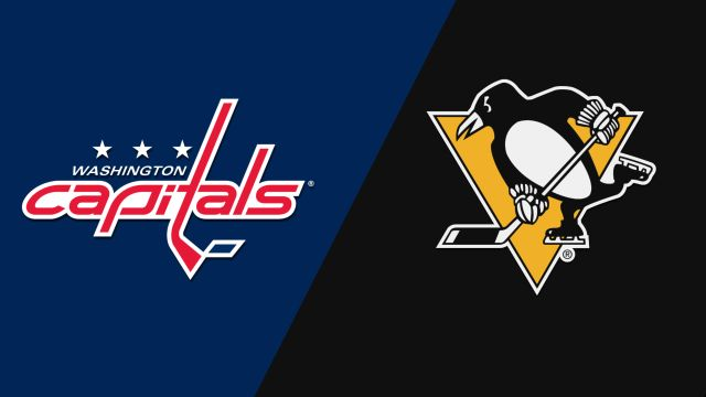 In Canadian French-Washington Capitals vs. Pittsburgh Penguins