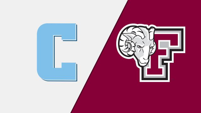 Columbia vs. Fordham (W Basketball)