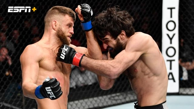 Zabit Magomedsharipov vs. Calvin Kattar (UFC Fight Night: Zabit vs. Kattar)