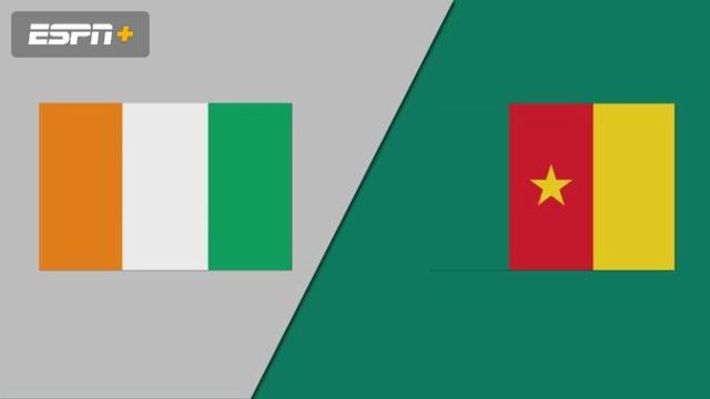 Cote D'Ivoire vs. Cameroon