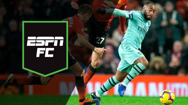 Wed, 12/5 - ESPN FC: Arsenal clash with Manchester United