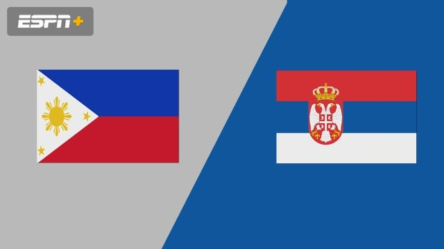 Philippines vs. Serbia (Group Phase)