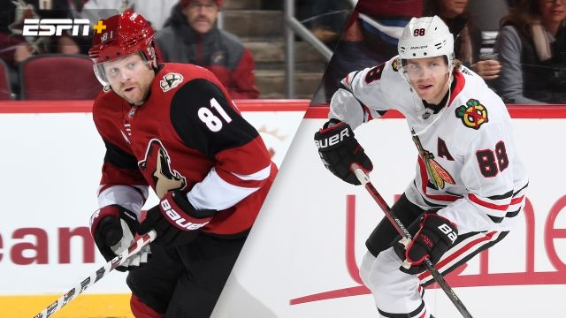 Arizona Coyotes vs. Chicago Blackhawks