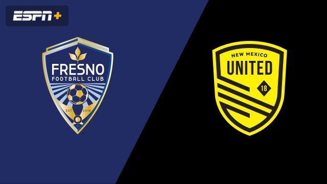 Fresno FC vs. New Mexico United (USL Championship)