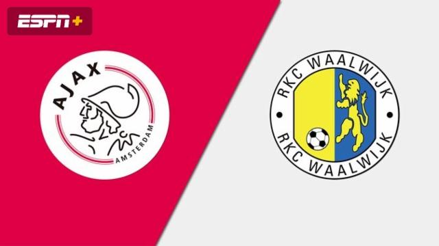 Ajax vs. RKC Waalwijk (Eredivisie)