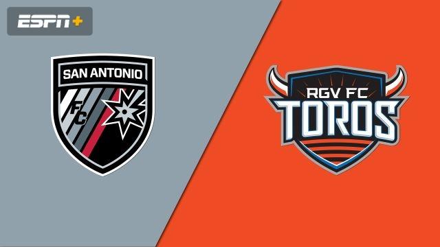 San Antonio FC vs. Rio Grande Valley FC Toros (USL Championship)