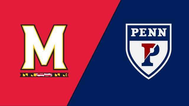 #3 Maryland vs. Pennsylvania (M Lacrosse)