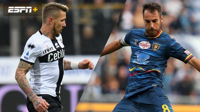 In Spanish-Parma vs. Lecce (Serie A)