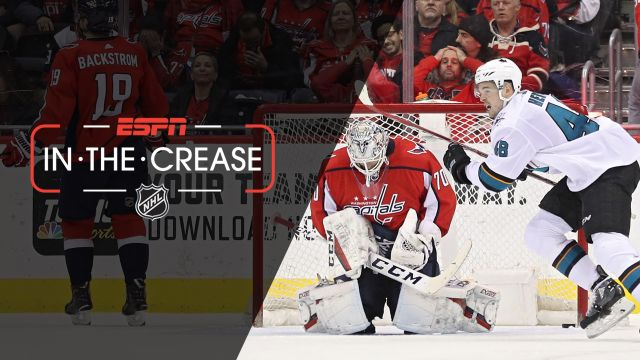 Tue, 1/22 - In the Crease: Sharks edge Capitals in OT