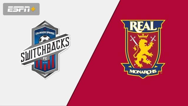 Colorado Springs Switchbacks FC vs. Real Monarchs SLC (USL Championship)