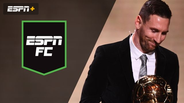 Mon, 12/2 - ESPN FC: Messi wins 6th Ballon d'Or
