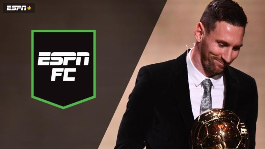 Mon, 12/2 - ESPN FC: Messi wins 6th Ballon d'Or