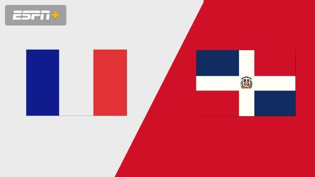 France vs. Dominican Republic (Group Phase)