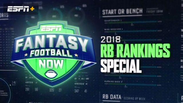2018 RB Rankings