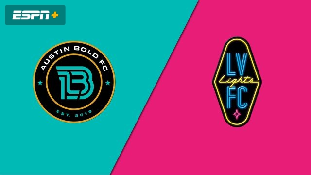 Austin Bold FC vs. Las Vegas Lights FC (USL Championship)