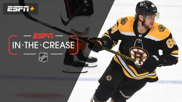 Tue, 10/15 - In the Crease: Pastrnak looks to lead Bruins