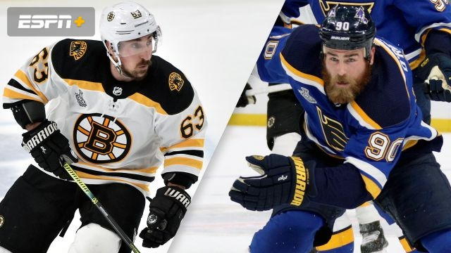 In French-Boston Bruins vs. St. Louis Blues (Game #4)