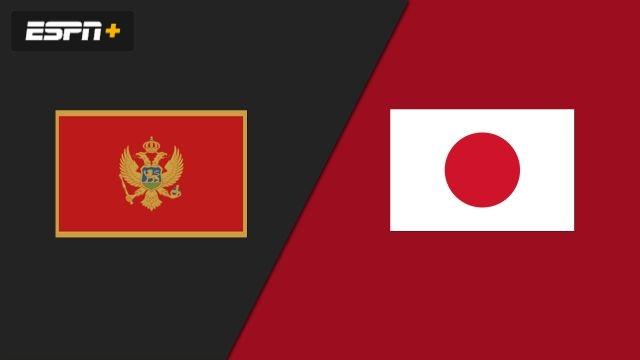 Montenegro vs. Japan (Group Phase)