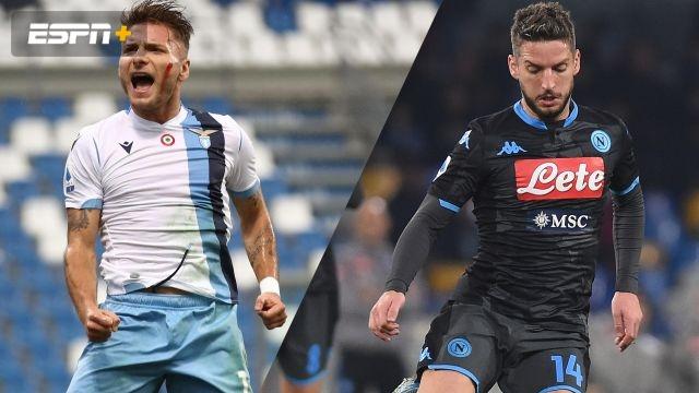 In Spanish-Lazio vs. Napoli (Serie A)
