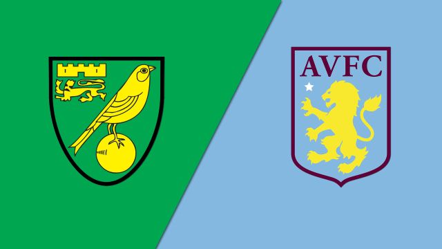 Norwich City vs. Aston Villa (English League Championship)
