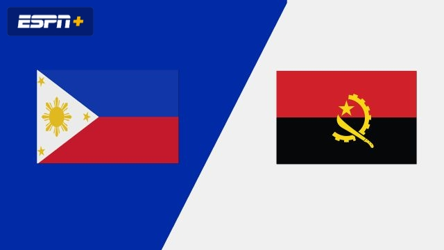 Philippines vs. Angola (Group Phase)