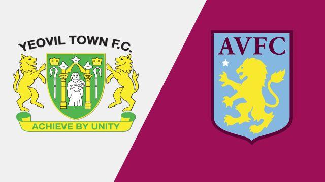 Yeovil Town vs. Aston Villa (Round 1) (Carabao Cup)