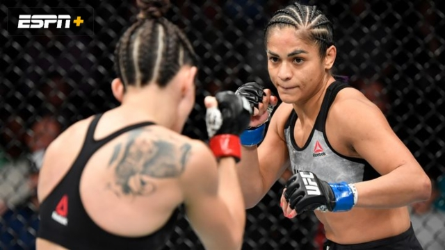 Marina Rodriguez vs. Cynthia Calvillo (UFC Fight Night: Overeem vs. Rozenstruik)