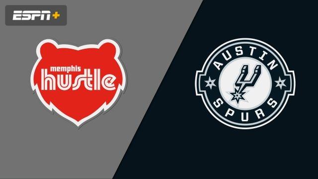 Memphis Hustle vs. Austin Spurs