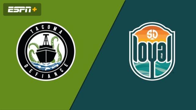 Tacoma Defiance vs. San Diego Loyal SC (USL Championship)
