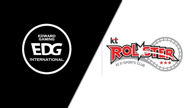 10/16 Edward Gaming vs. kt Rolster