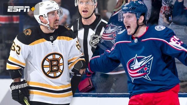 Boston Bruins vs. Columbus Blue Jackets