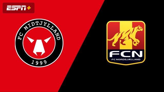 FC Midtylland vs. Nordsjaelland (Danish Superliga)