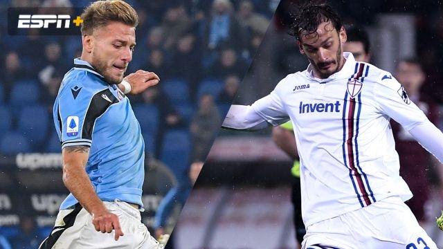 In Spanish-Lazio vs. Sampdoria (Serie A)