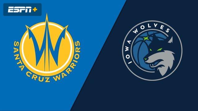 Santa Cruz Warriors vs. Iowa Wolves