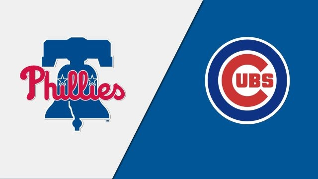 Philadelphia Phillies vs. Chicago Cubs