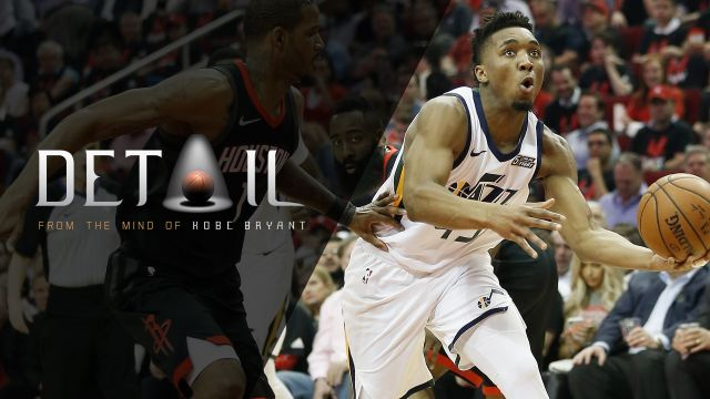 Jazz vs Rockets Game 1 with Donovan Mitchell