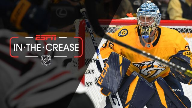 Sat, 4/6 - In the Crease: Predators look to clinch Central Division