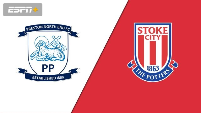 Preston North End vs. Stoke City (English League Championship)