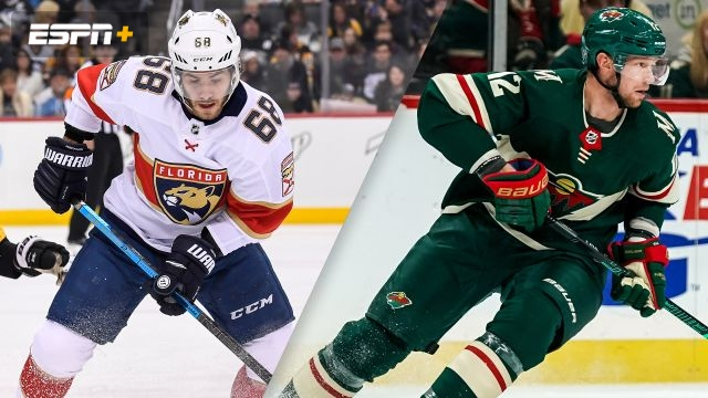 Florida Panthers vs. Minnesota Wild