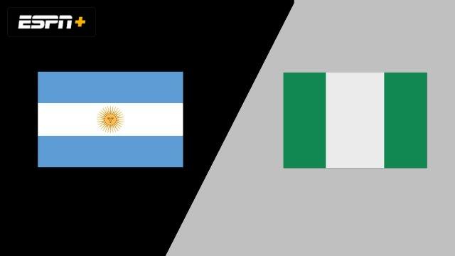 Argentina vs. Nigéria (Group Phase)