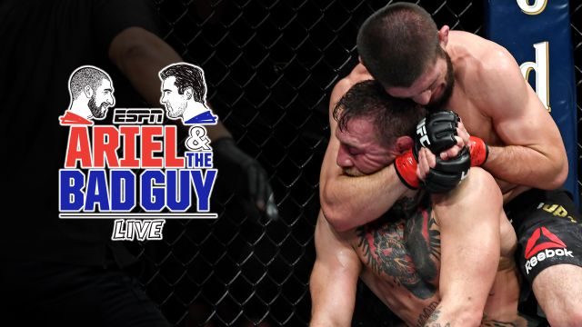 Ariel & The Bad Guy Live: Khabib submits McGregor