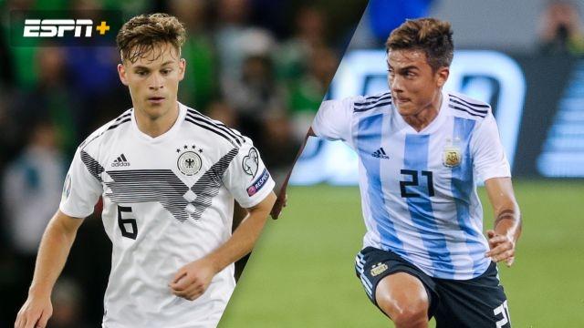 Germany vs. Argentina (International Friendly)