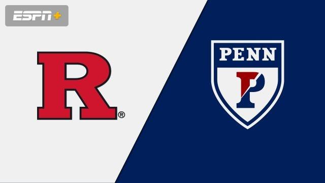 #24 Rutgers vs. Pennsylvania (M Soccer)