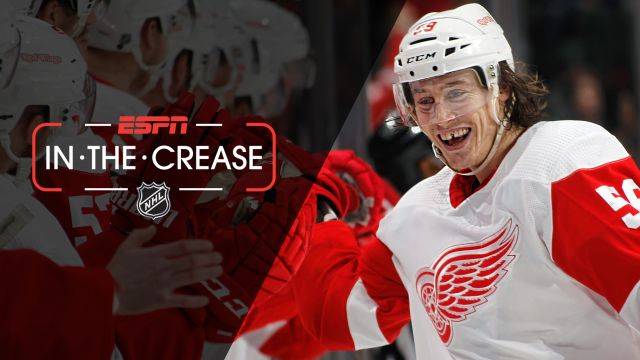 Sat, 1/12 - In the Crease: Bertuzzi nets hat trick in Red Wings' win