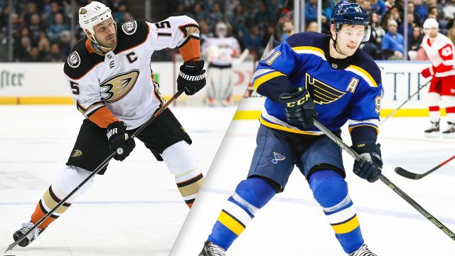 Anaheim Ducks vs. St. Louis Blues